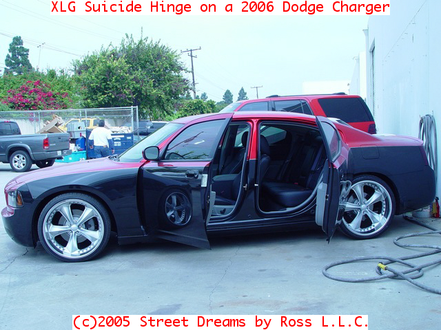 An XLG suicide hinge as installed on a Chrysler 300. & Street Rod Suicide Hinges for Doors \u0026 Hoods | Street Dreams By Ross Pezcame.Com